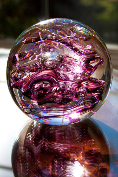 Photograph - Solid Glass Sculpture R6 The Perfect Valentine's Gift by David Patterson