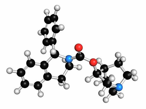 Pharma Wall Art - Photograph - Solifenacin Overactive Bladder Drug by Molekuul