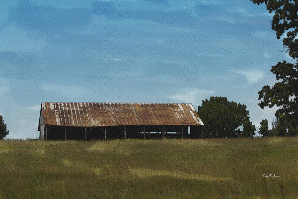 Photograph - Solitary Barn by Barry Jones