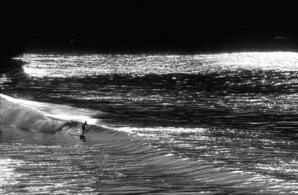 Longboard Photograph - Solitary Glass by Sean Davey