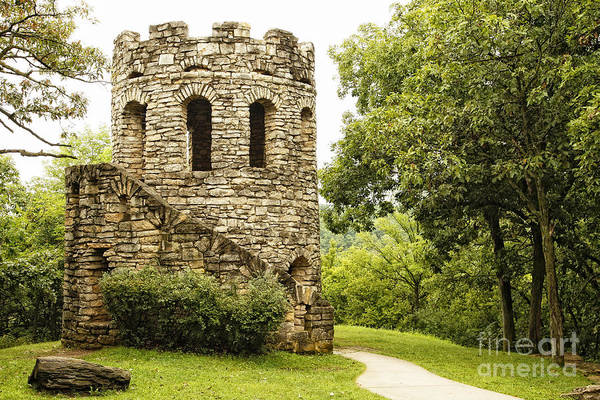 Photograph - Solitary Stone Tower by Lincoln Rogers