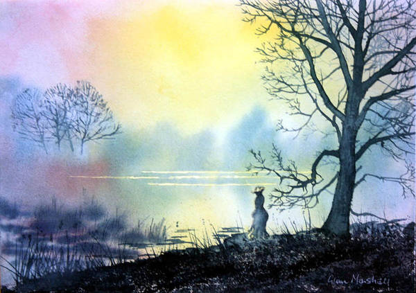 Painting - Solitude by Glenn Marshall