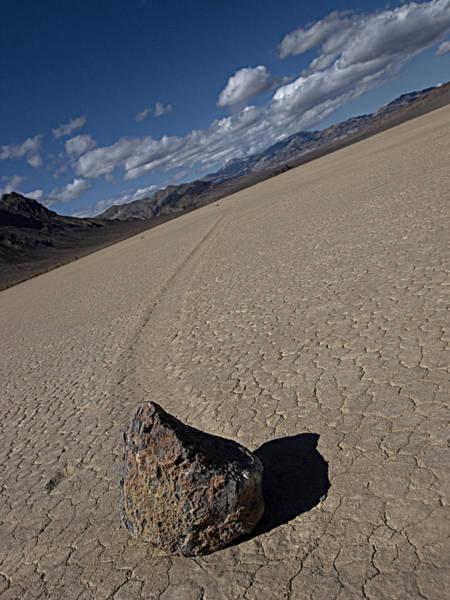 Racetrack Playa Photograph - Solo Slider by Joe Schofield