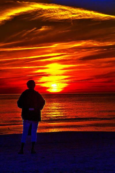 Photograph - Solo Sunset by Jeff Kurtz