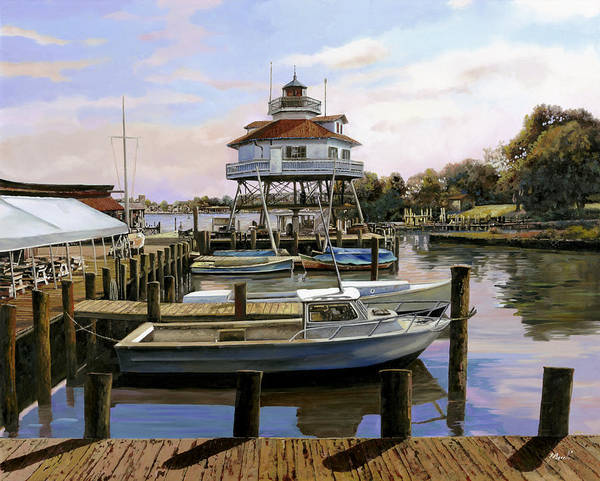 Islands Wall Art - Painting - Solomon's Island by Guido Borelli