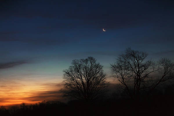 Photograph - Solstice Moon by Bill Wakeley