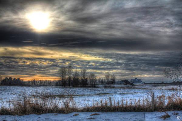 Photograph - Solstice Sun by John Meader