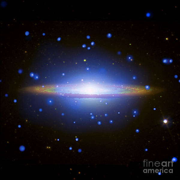 Photograph - Sombrero Galaxy by Nasa