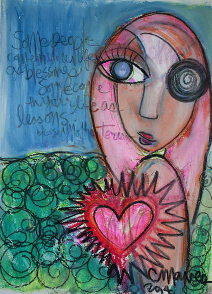 Painting - Some People by Laurie Maves ART