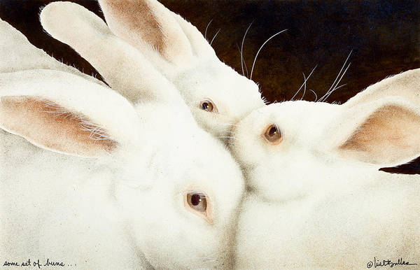 Bun Wall Art - Painting - Some Set Of Buns... by Will Bullas
