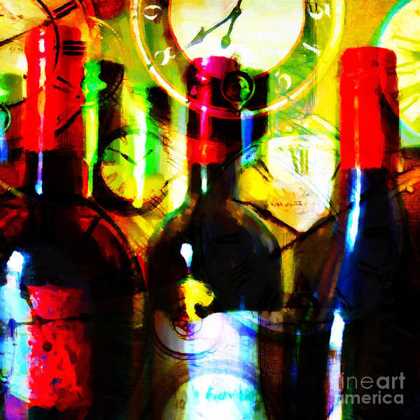 Photograph - Some Things Get Better With Time - Square by Wingsdomain Art and Photography