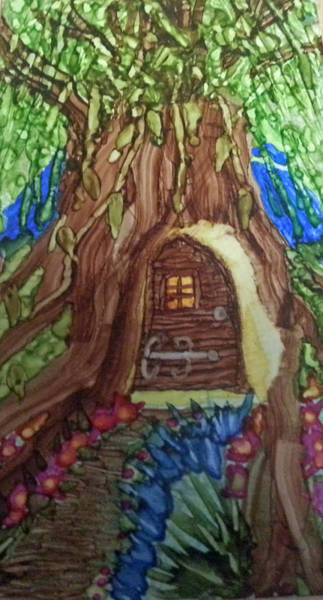 Painting - Someone's Home by Kelly Dallas