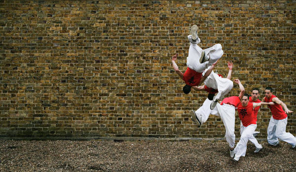 Freestyle Photograph - Somersault by Gustoimages/science Photo Library