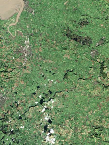 2010s Wall Art - Photograph - Somerset Levels by Nasa