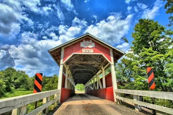 Somerset Pa Glessner Bridge Art Print