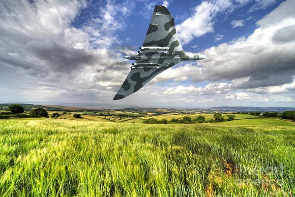 Vulcan Bomber Photograph - Somerset Vulcan  by Rob Hawkins