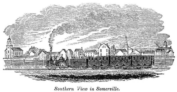 Painting - Somerville, 1844 by Granger