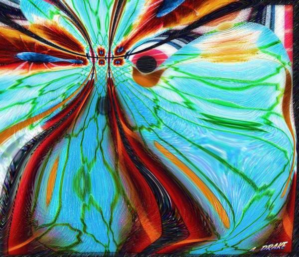 Digital Art - Something Is Watching Me by Alec Drake