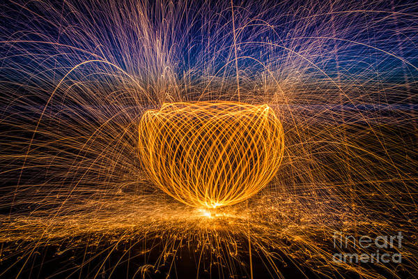 Steel Wool Photograph - Something Magical by Jennifer Magallon