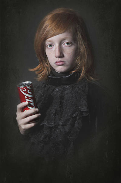 Coca Cola Photograph - Something Old And  Something New by Carola Kayen-mouthaan