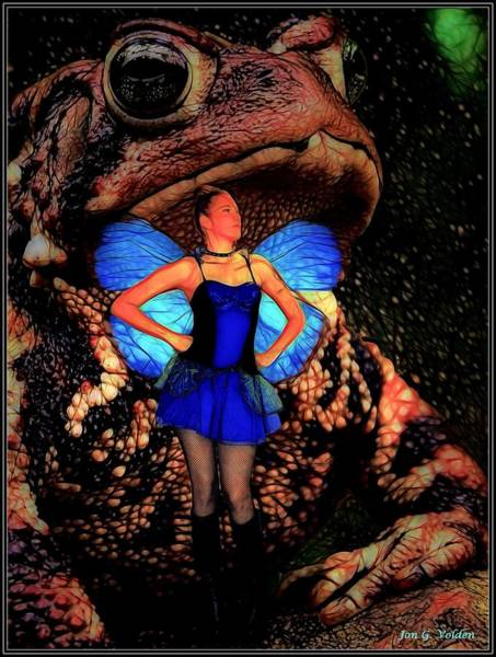Painting - Sometime A Toad Is Just A Toad by Jon Volden