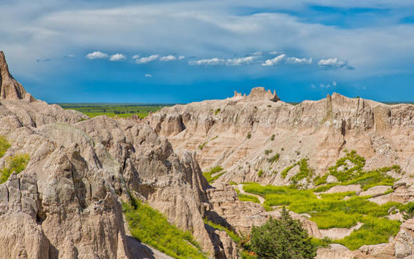 Photograph - Sometimes Its Good In The Badlands by John M Bailey