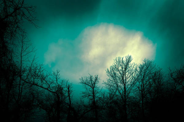 Skyscape Photograph - Somewhere Between Here And There by Bob Orsillo