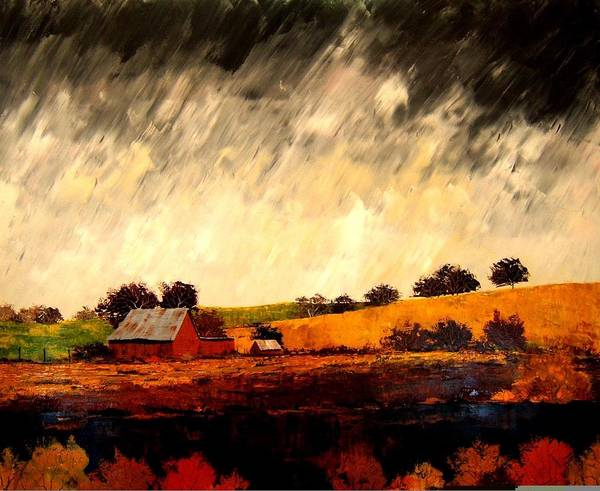 Painting - Somewhere Else by William Renzulli