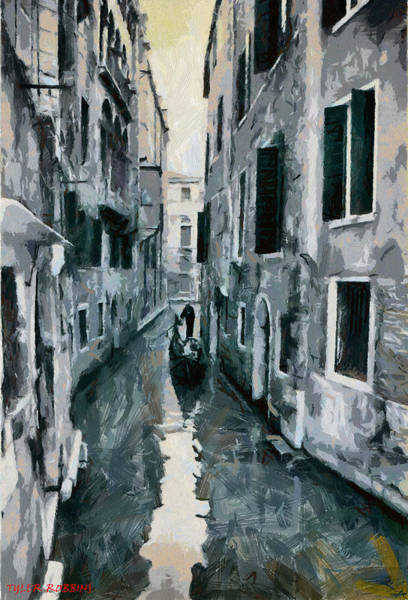 Painting - Somewhere In Venice by Tyler Robbins