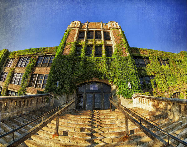 Photograph - Somsen Hall Welcome by Al  Mueller