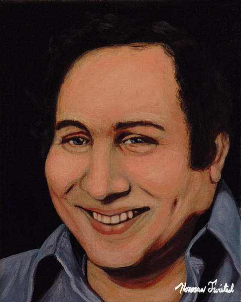 Serial Killer Painting - Son Of Sam David Berkowitz by Norman Twisted