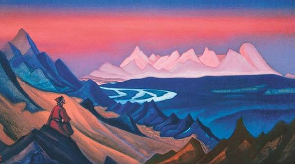 Nk Roerich Painting - Song Of Shambhala by Nicholas Roerich