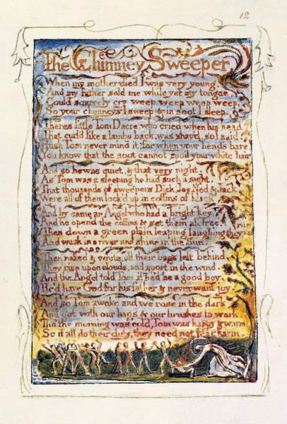 William Blake Drawing - Songs Of Innocence, 1789 by Granger