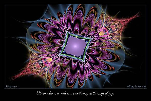 Digital Art - Songs Of Joy by Missy Gainer