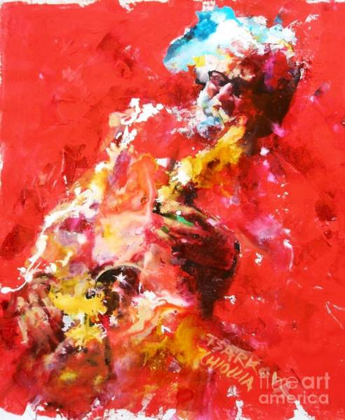 Wall Art - Painting - Sonny Rollins by Massimo Chioccia