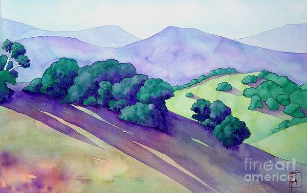 Napa Painting - Sonoma Hills by Robert Hooper