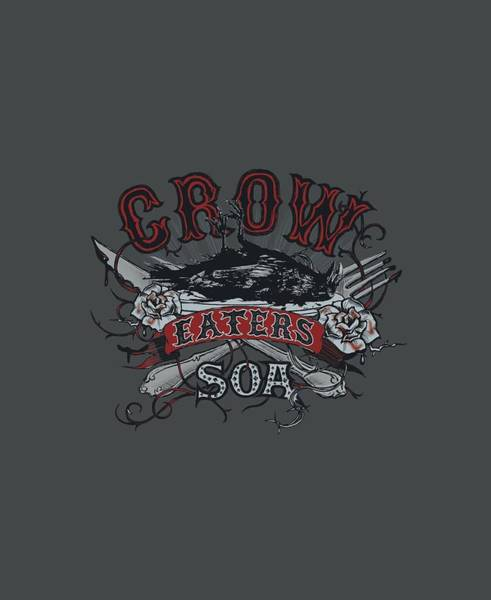 Son Digital Art - Sons Of Anarchy - Eat Moe Crow by Brand A