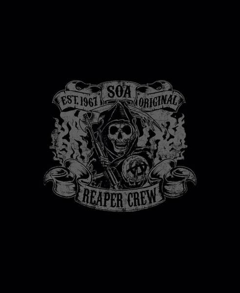 Son Digital Art - Sons Of Anarchy - Original Reaper Crew by Brand A