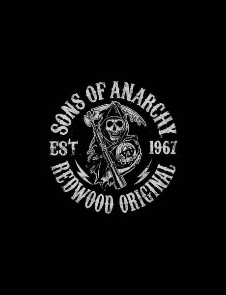 Son Digital Art - Sons Of Anarchy - Redwood Originals by Brand A