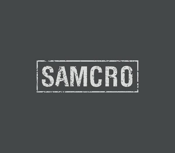 Son Digital Art - Sons Of Anarchy - Samcro by Brand A