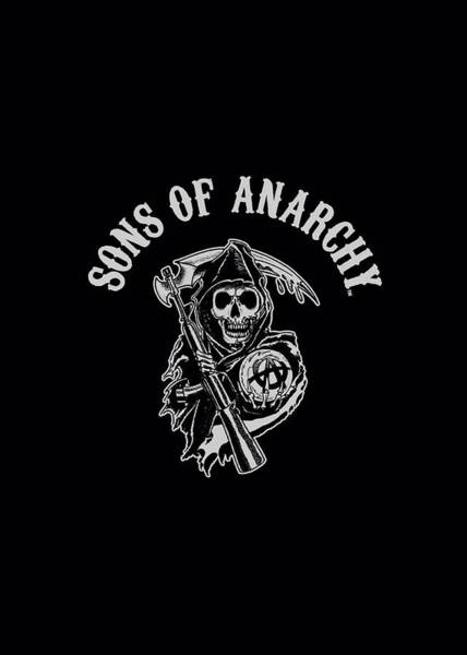 Son Digital Art - Sons Of Anarchy - Soa Reaper by Brand A
