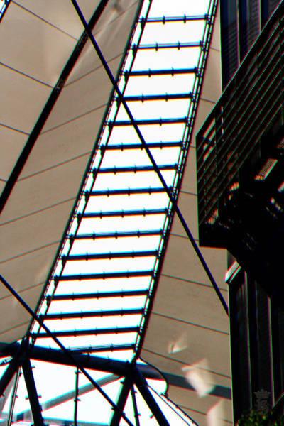 Sony Center Photograph - Sony Center Berlin Roof Detail by Li   van Saathoff