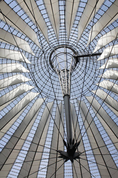 Photograph - Sony Center Looking Up by Joan Carroll