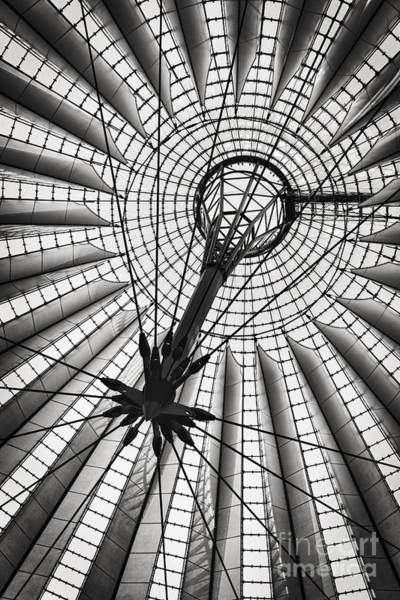 Deutschland Photograph - Sony Centre Berlin by Rod McLean
