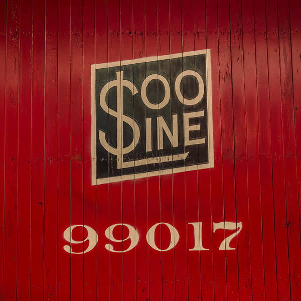 Wall Art - Photograph - Soo Line Box Car by Paul Freidlund