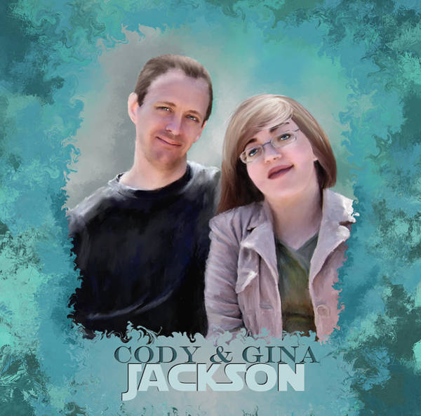 Painting - Soon To Be Mr And Mrs Jackson by Susan Kinney