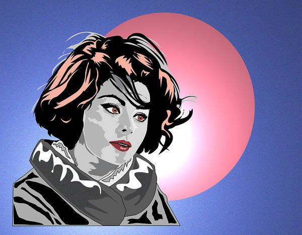 Wall Art - Digital Art - Sophia Loren by Andy Donald