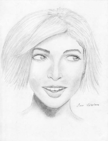 Drawing - Sophie by M Valeriano