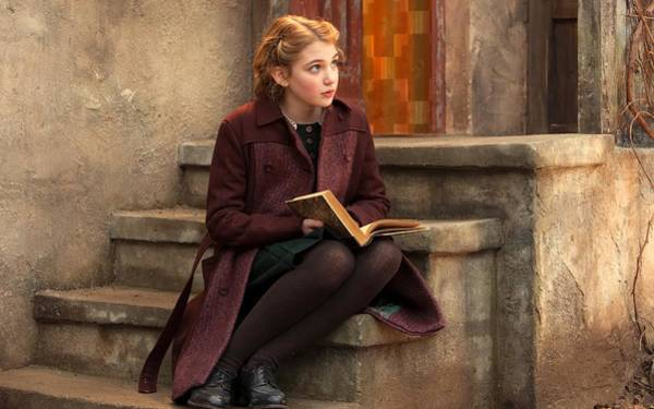 Photograph - Sophie Nelisse The Book Thief by Movie Poster Prints