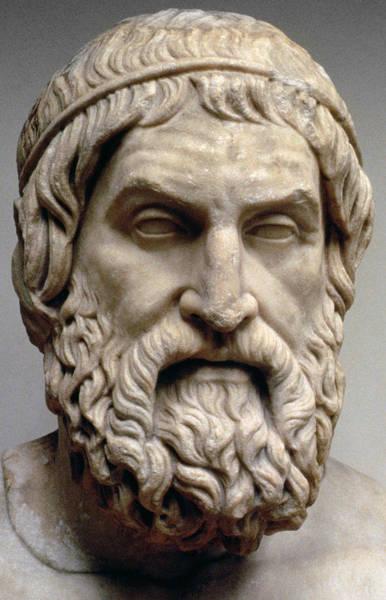 Theorist Wall Art - Sculpture - Sophocles by Greek School